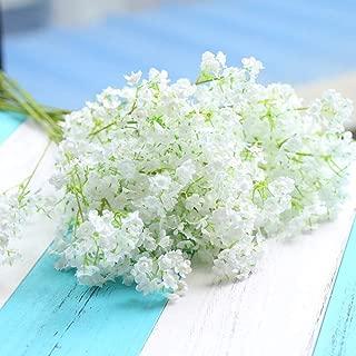 HOMMINI 20PCS Artificial Flowers, Gypsophila, Baby Breath 16