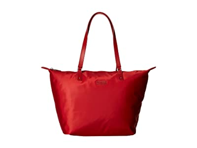 Lipault Paris Lady Plume Tote Bag M (Cherry Red) Bags