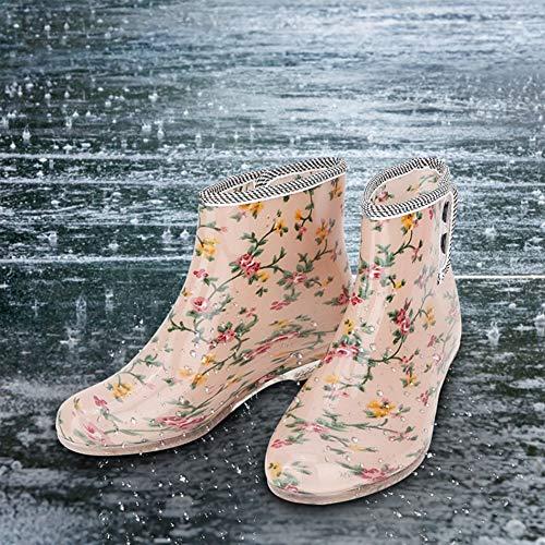 Regenlaarzen 1 paar ergonomische dames regenlaarzen voor de industrie(38 yards)