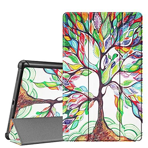 Adecuado para Samsung Galaxy Tab A 10.1 SM-T510 2019 Funda para Tablet Pc-Funda Protectora Ligera Ultrafina Vegana, Función De Reposo/Activación Automática