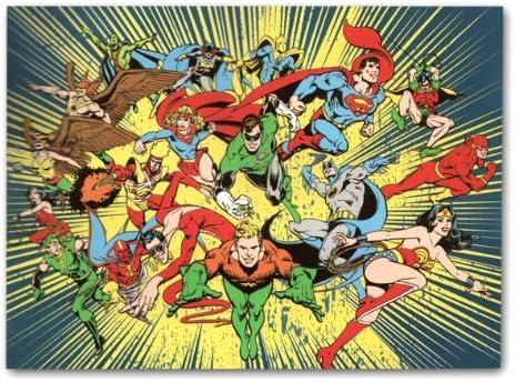 Amazon Com Dc Comics Superhero Classic Fleece Throw Blanket Home Kitchen