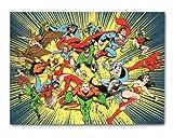 DC Comics Superhero Classic Fleece Throw Blanket