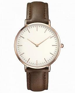 Retro Quartz Watch,Hosamtel Women Men Simple Casual Quartz Analog Wrist Watches