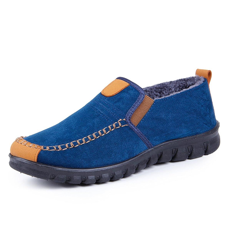 HAVINA House Slippers Comfy & Warm Plush Fleece Lined Anti-Slip Winter Indoor Outdoor Shoes