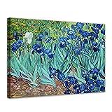 Wandbild Vincent Van Gogh Iris - 50x40cm quer - Alte