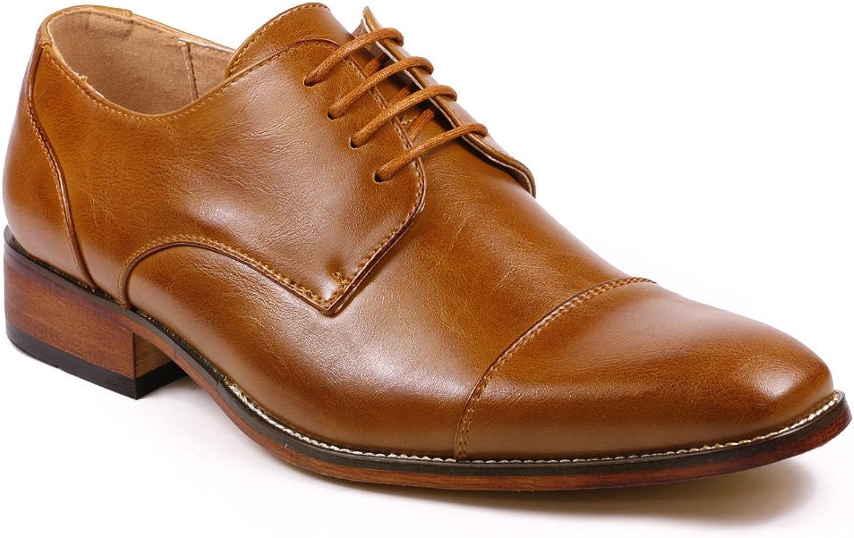 Metrocharm MC106 Cap Toe Lace Uppe Oxford Classic Dress skor skor skor  stödja grossistförsäljning
