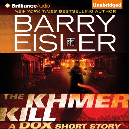 The Khmer Kill audiobook cover art