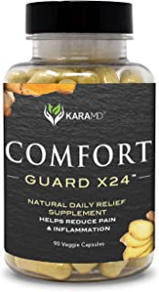 KaraMD Comfort Guard X24 (90 Capsules) | Doctor Formulated Inflammation, Joint & Pain Supplement for Men & ...