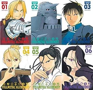 Fullmetal Alchemist: Fullmetal Edition, Vol. 1-6