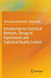 Introduction to Statistical Methods, Design of Experiments and Statistical Quality Control