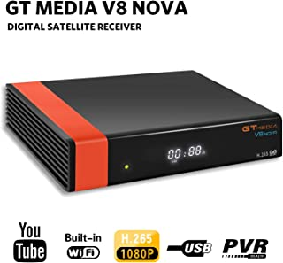 GT Media V8 Nova DVB-S2 Decodificador Satélite Receptor de