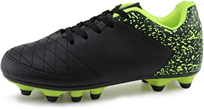 Hawkwell Athletic Outdoor/Indoor Comfortable Soccer Shoes(Toddler/Little Kid/Big Kid)