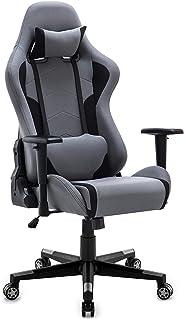 IntimaTe WM Heart Gaming en Tissu, Bureau Chaise Informatique, Ergonomique 360° Rotatif Hauteur réglable Haut Dossier incl...