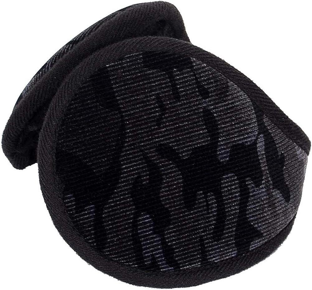 CHUANGLI Winter Camouflage Fleece Earmuffs Ear Warmers Soft Foldable Ear Cover for Men and Women