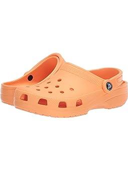 Girls Crocs Kids Orange Shoes + FREE