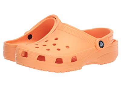 Crocs Kids Classic Clog (Toddler/Little Kid/Big Kid) (Cantaloupe) Kids Shoes