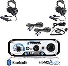 Rugged Radios RRP660 Plus Ultimate Kit 2 Person Intercom System with Ultimate Over The Headsets