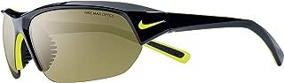 Nike Men's Skylon Ace EV0525-003 Rectangular Sunglasses, Black, 69 mm