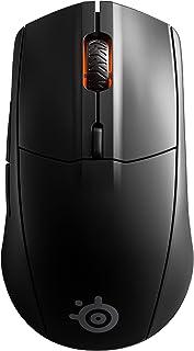 SteelSeries Rival 3 trådlös gaming mus - 400 + timmars batterilivslängd - Dual Wireless 2,4 GHz och Bluetooth 5.0 - 60 mil...