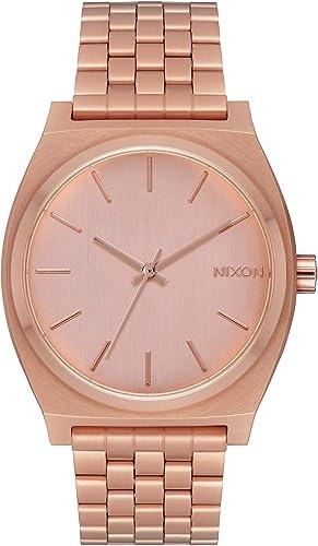 Nixon Mixte Adulte Analogique Quartz Montre avec Bracelet en Acier Inoxydable A045897-00