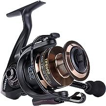 Gosccess Carrete de pesca Izquierda / Derecha plegable intercambiable Carretes de pesca Spinning 14+1 BB Carretes de pesca