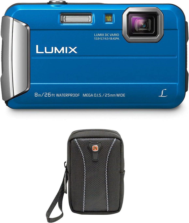 Panasonic Lumix DMC-TS30 Waterproof Digital Camera Bundle with ...