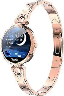 Sutinna Reloj Inteligente a la Moda for Mujer, Dispositivo Impermeable, Monitor de Ritmo cardíaco, Reloj Inteligente Depor...