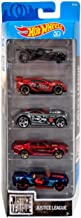 Hot Wheels 2018 Justice League Movie 1:64 Scaled 5-Pack