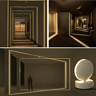 Plafoniera LED Soffitto Moderna, Faretti a LED per interni, 10W, 3000K Bianco Caldo, Applique da Parete Interno e Esterno...