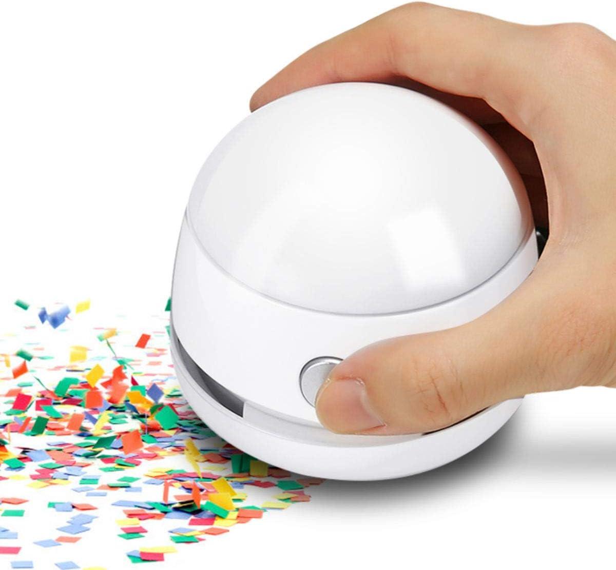 MECO Desktop Vacuum Desk Dust Cleaner Mini Table Dust Vaccum Cleaner, Best Cleaner for Cleaning Dust,Hairs,Crumbs,Scraps for Laptop,Piano,Computer,Car and Pet House