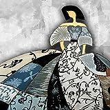 Cuadros de Meninas Modernas Lienzo Impreso Bastidor galería 3,5 cm Decoración de la Pared (50 x 50 cm)
