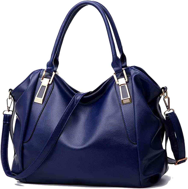 Lanbeauty Womens Soft Leather Handbag Purses and Shoulder Bag Ladies Designer Satchel Messenger Tote Bag