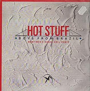 Boys From Brazil - Hot Stuff - Ariola - 609 916