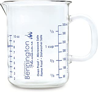 Catamount Glassware Graduated Measuring Cup from 1/4 to 1-1/2 Cup