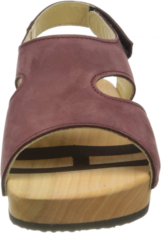 Woody Damen Stefanie Pantoletten Rot Mosto 065 QsS2Z