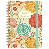 2020-2021 Planner - Academic Weekly & Monthly Planner with Flexible Hardcover, Jul 2020 - Jun 2021, 8.46' x 6.37', Twin- Wire Binding, Monthly Tabs, Inner Pocket, to-Do List, Making Your Life Better
