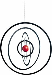 Science Fiction Hanging Mobile - 10 Inches - Wooden Ball - Handmade in Denmark by Flensted