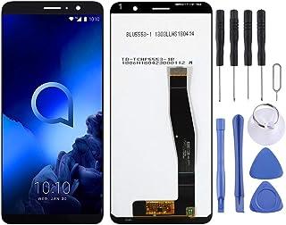 Reparera för din telefon LCD-skärm och digitizer Fullständig montering för Alcatel 1X (2019)5008 Tillbehör till förnyelse