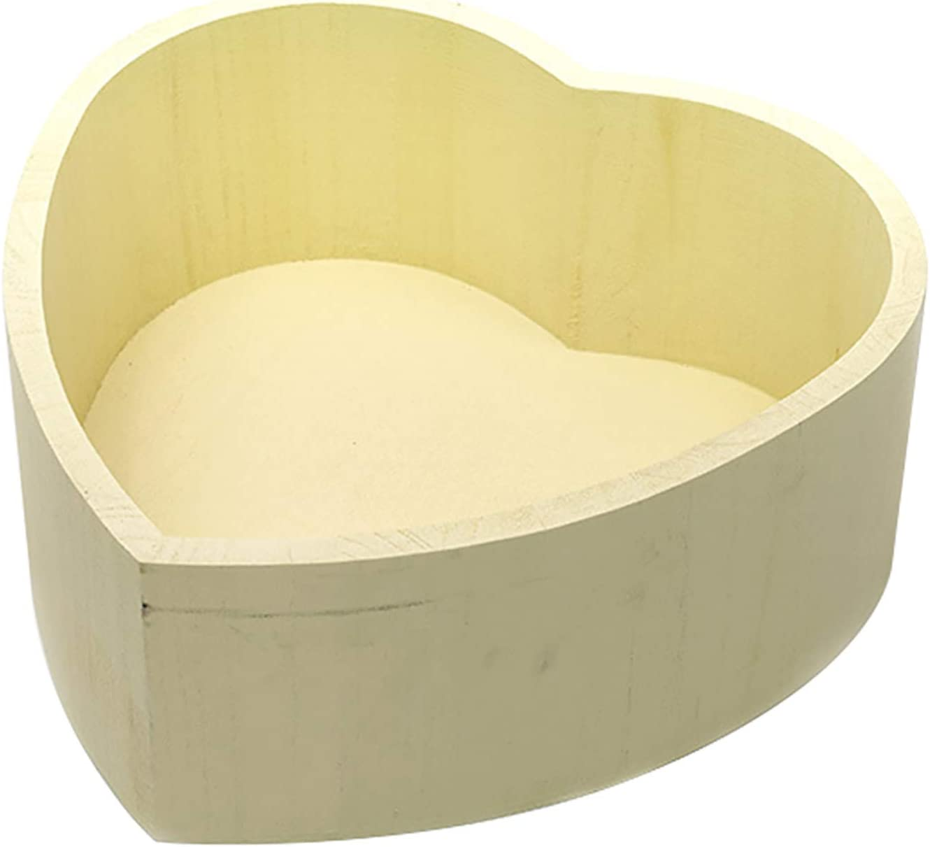 Newborn Props Photography Wooden Indefinitely Bowl Bed Our shop OFFers the best service Shaped Pos Heart Baby