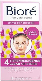Bioré Tiefenreinigende Clear-Up-Strips - Nasenstrips - Pink Lemonade Limited Edition, 100 g