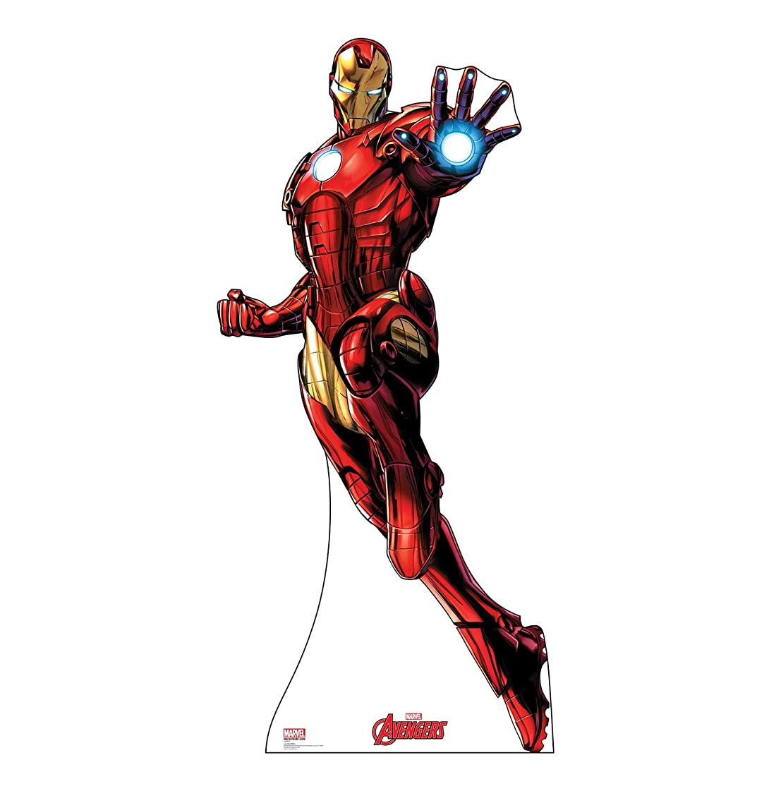 Advanced Graphics Iron Man Life Size Cardboard Cutout Standup - Marvel's Avengers Animated