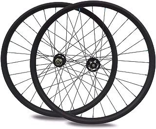 Sywtz 29er MTB Carbon Wheelset Hookless/Asymmetric Tubeless for DH/AM/XC/Enduro Mountain Bike 650B Wheelset 24/27/28/33/35/36/40/50mm Width