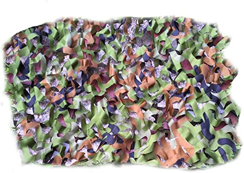 Qjifangwzh Filets de Camouflage, Couverture de Camping décorative cachée pour Le Ski de Fond de Chasse extérieur, Trois Tailles