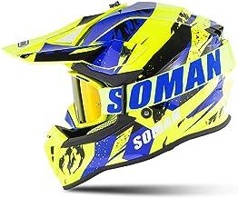 MTCTK Motocross motorcycle helmet DOT standard gifts mask goggles red or black gloves dirtbike four seasons racing helmet