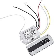 180-240V Interruptor de control remoto digital, 1Way / 2Way / 3Way ON/OFF Transmisor de receptor de interruptor de control remoto inalámbrico para electrodomésticos (2-Ways)