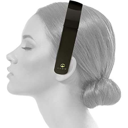 PAWW PW-2018SS01-CB SilkSound Bluetooth Headband Over-Ear Headphones with Microphone (Carbon Black)