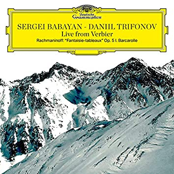 """Rachmaninoff: Suite No. 1 for 2 Pianos, Op. 5 """"Fantaisie-tableaux"""": I. Barcarole (Live from Verbier Festival / 2015)"""