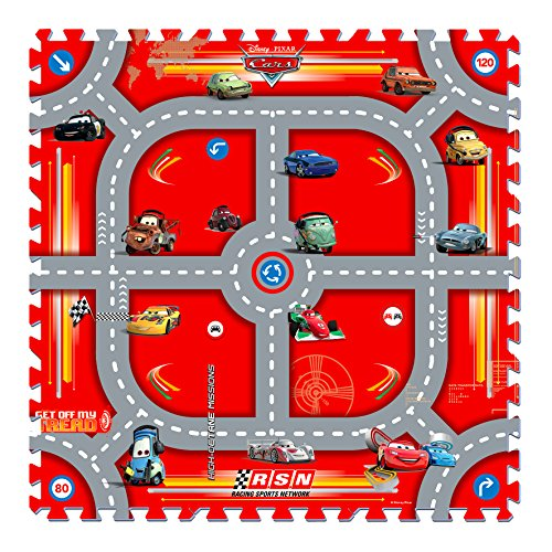 Knorrtoys 21015 - Cars - Modular Race/Puzzlematte/9tlg./