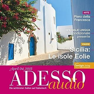 ADESSO Audio - Sicilia: Le isole Eolie. 4/2013 Titelbild