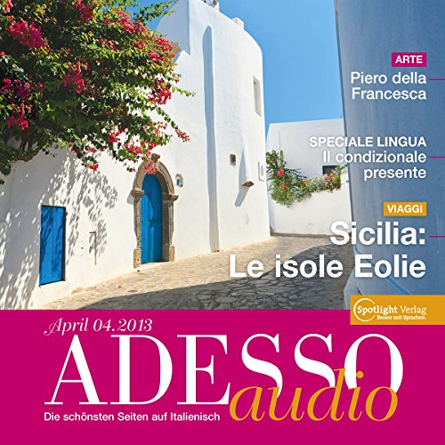 ADESSO audio - Sicilia: Le isole Eolie. 4/2013 audiobook cover art